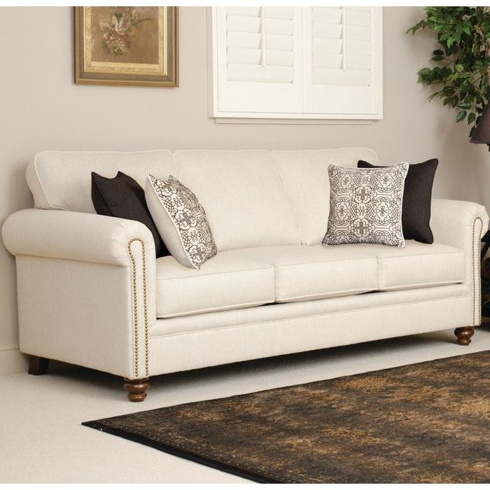 Three Posts Serta Upholstery Caroll Sofa   Elegant sofa, Upholstery ...