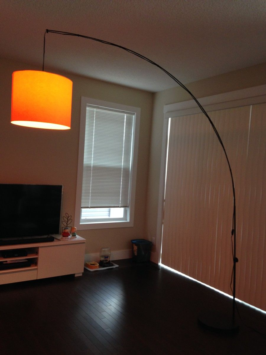 Make Your Lamp Higher End Ikea Hackers Diy Floor Lamp Lamp Living Room Inspiration