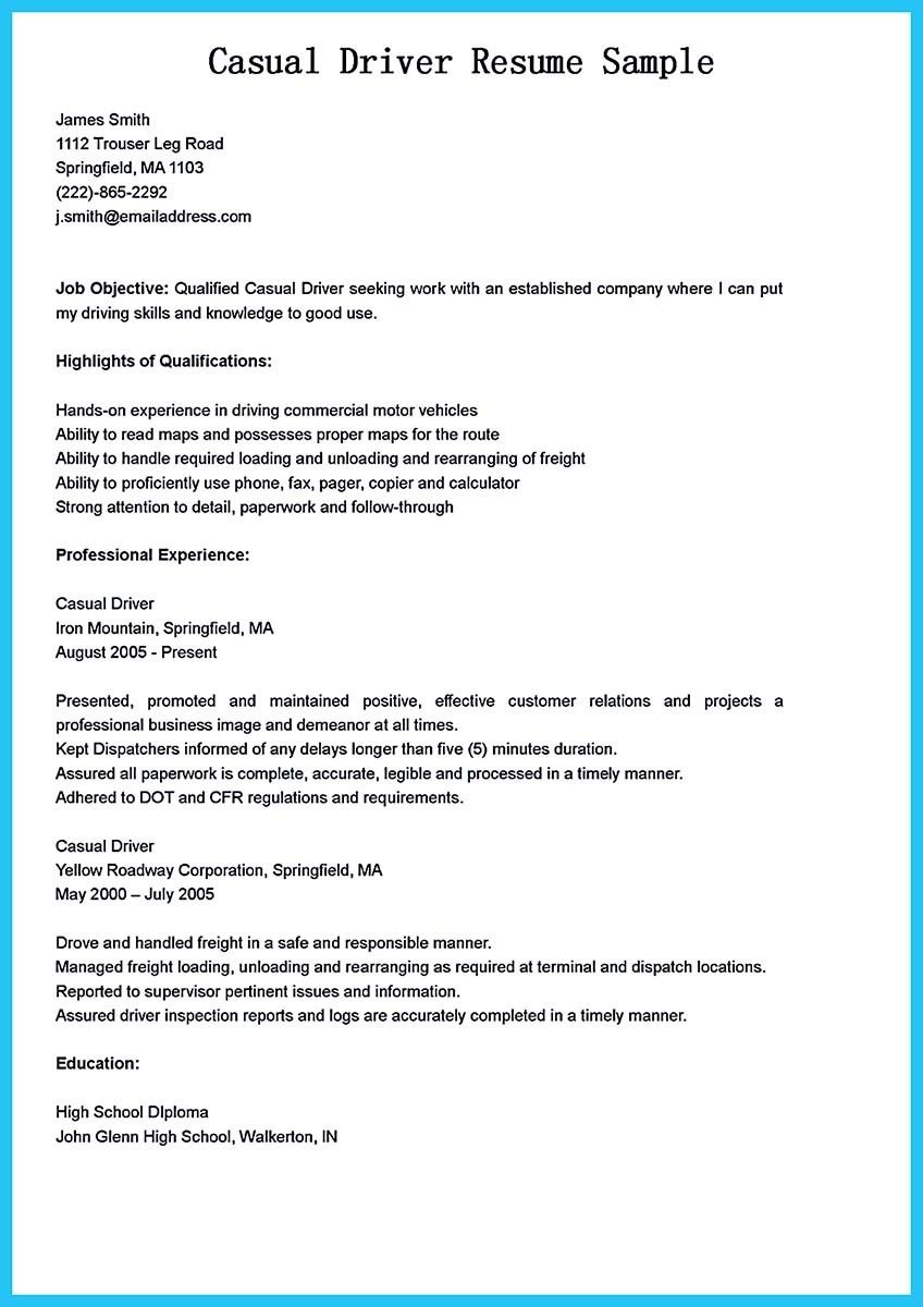 18+ Truck driver resume pdf Resume Examples