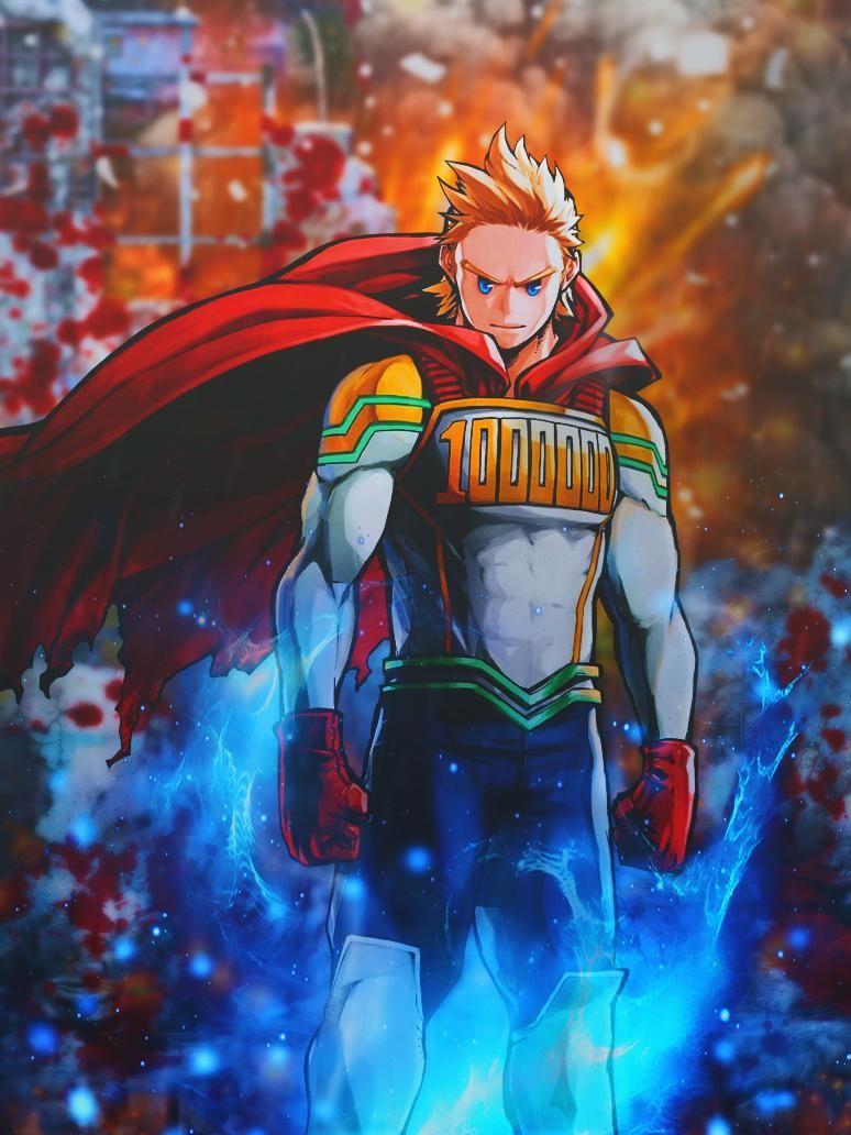 Mirio Togata Boku No Hero Academia By Dinocozero On Deviantart My Hero Academia Episodes Deku Boku No Hero Hero Wallpaper