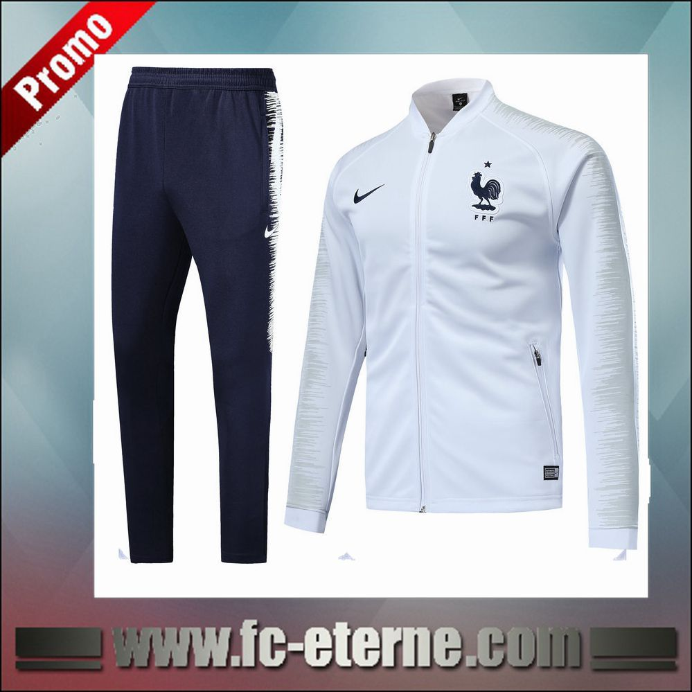 Veste Fc Nouveau Blanc De France Survetement Eterne Ensemble Foot vqYwrqRS1 689cb415cb0