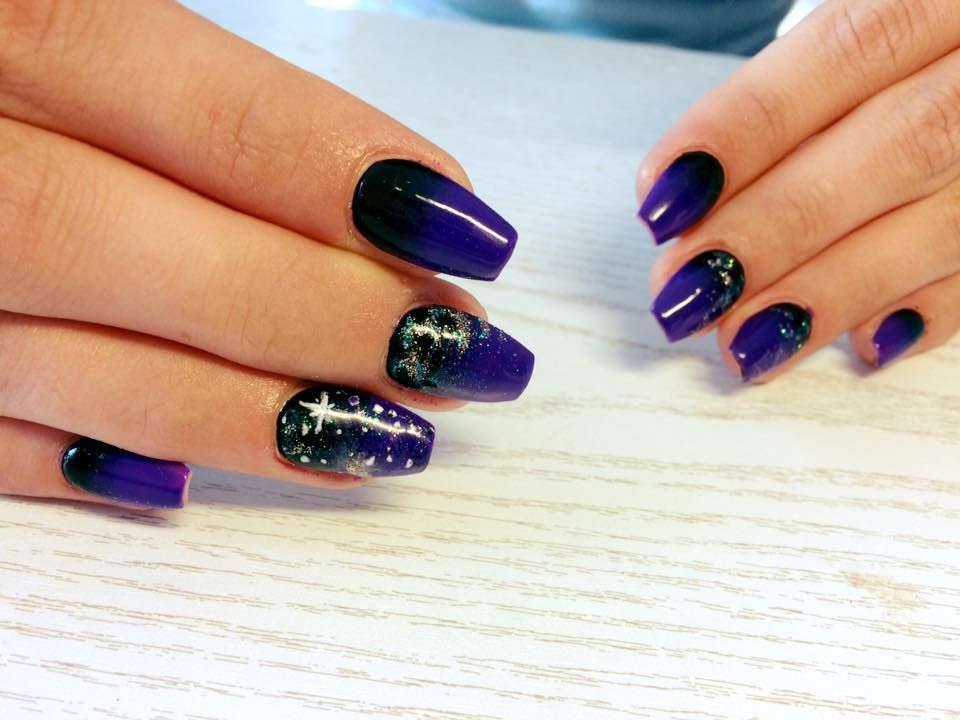 45 Beautiful Galaxy Nail Art Design Ideas   Galaxy nail art, Galaxy ...