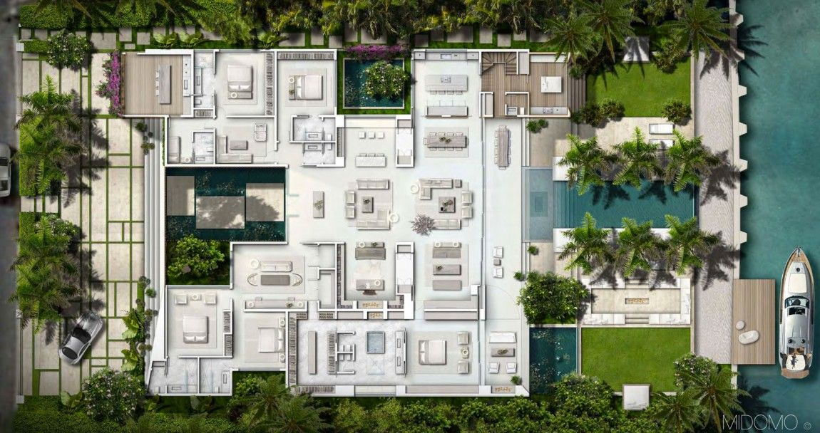 gross flasz residence by one d b miami 19 architectural plans rh pinterest co uk