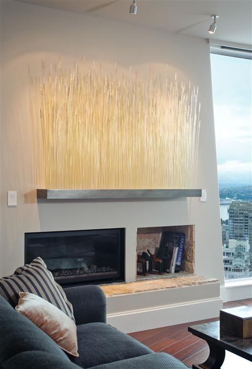 Great Interior Design For Luxury Wheat Glass Installation