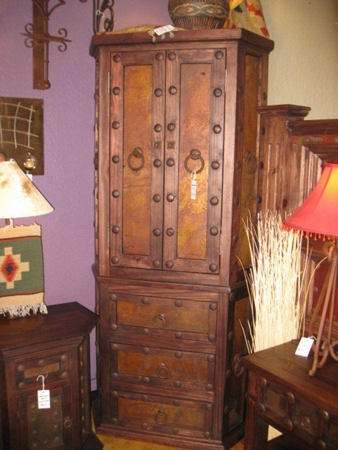 Maronita Corner Armoire By The Rustic Gallery Of San Antonio Tx Furniture