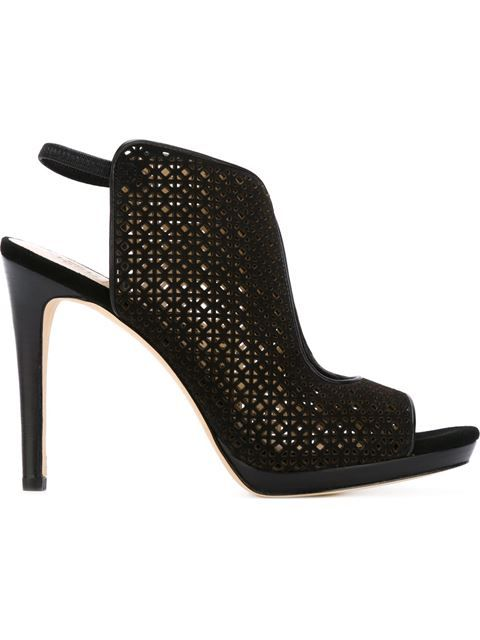 Love this by TORY BURCH Perforated Panel Sandals - $350