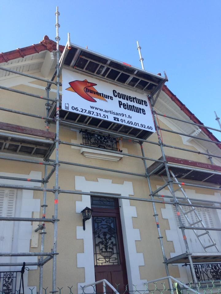 wwwartisan91fr rénove la façade et la toiture de la maison devis