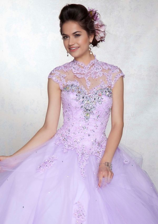 Quinceanera Dress From Vizcaya By Mori Lee Dress Style 88042 Beaded ...