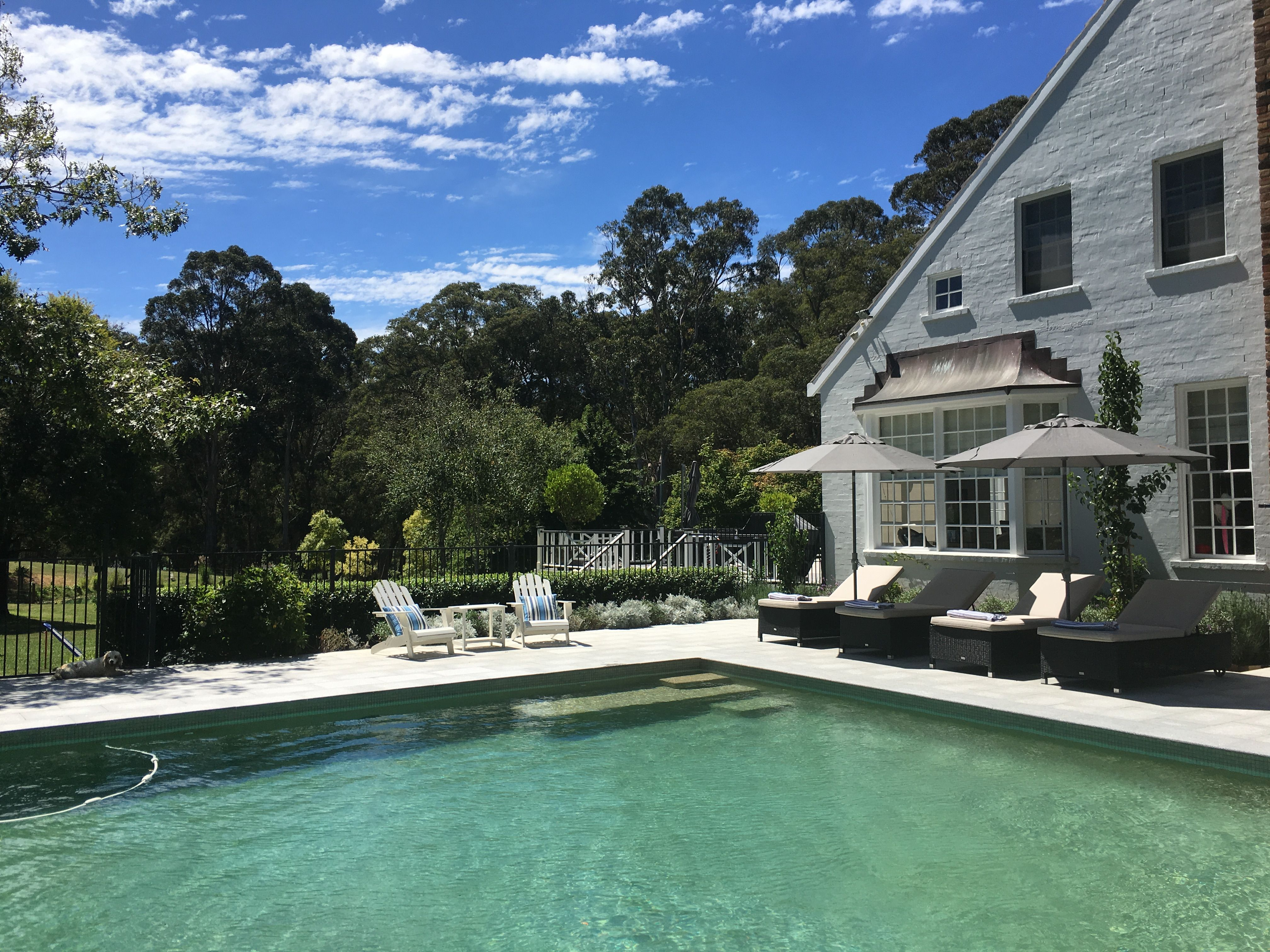 Melinda Hartwright Interiors: Our Pool, Set Amongst Gardens In The Southern Highlands By