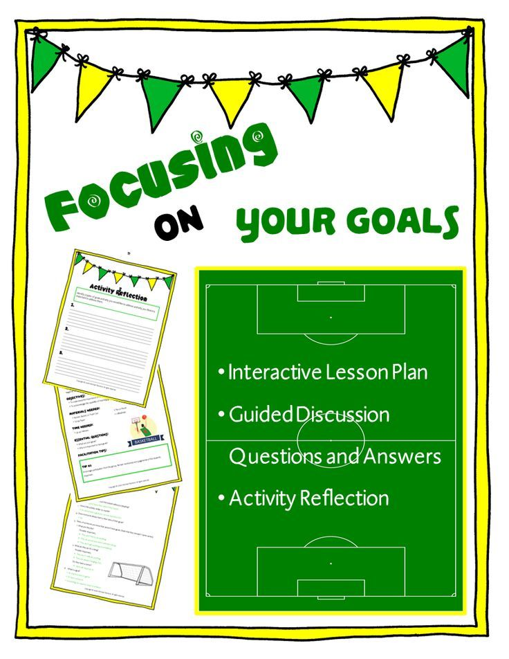 A fantastic activity which allows students to begin to understand the importance of having clear goals, and thinking about their futures!
