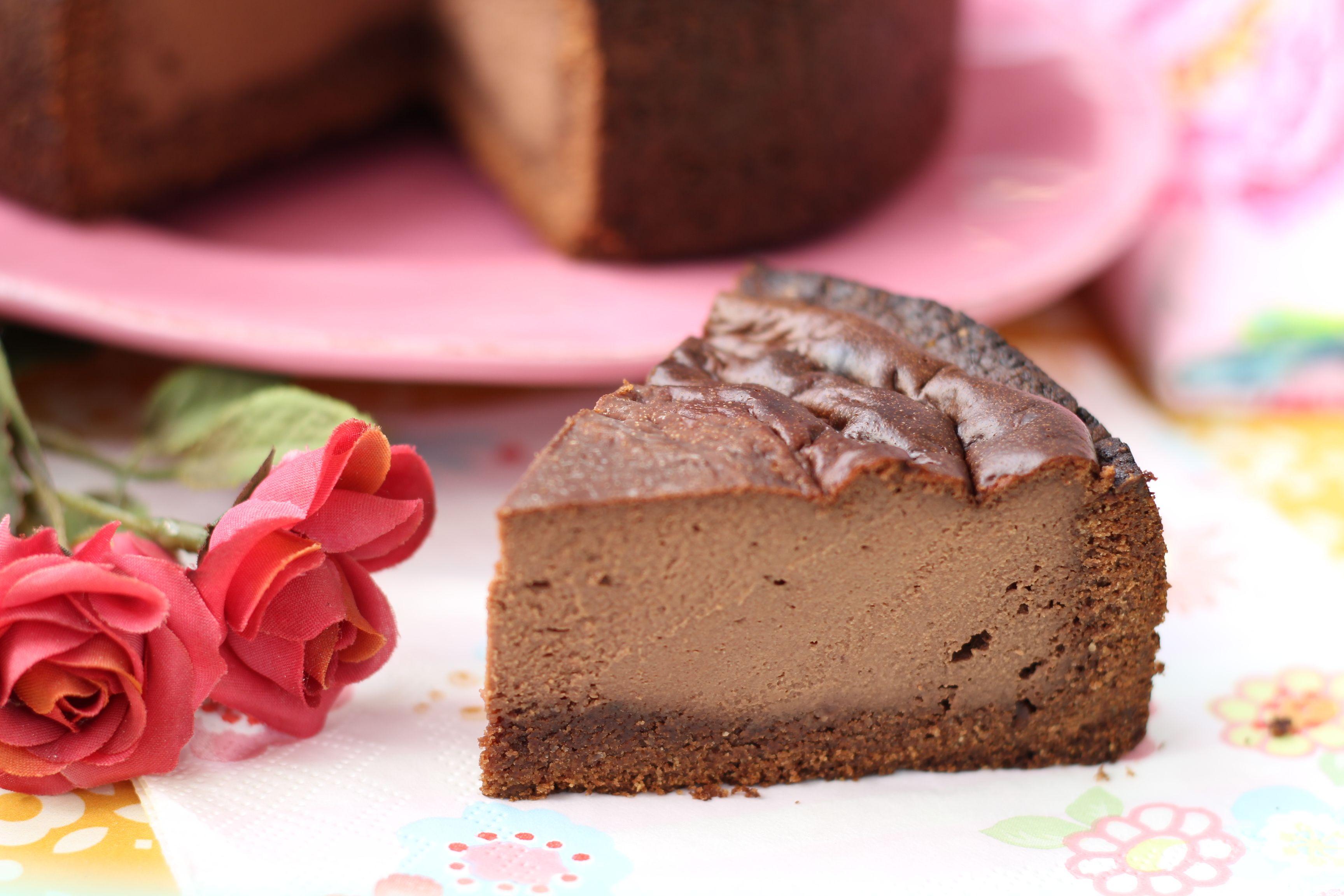 Low Carb Chocolate Cheesecake Rezept Kuchen Und Torten Lebensmittel Essen Low Carb Dessert