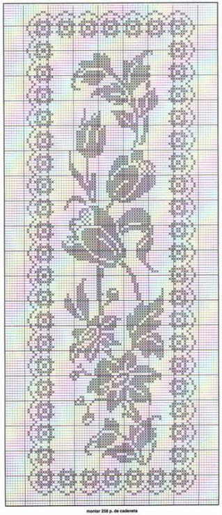 Tafelloper Haken Haakpatronen Pinterest Crochet Filet Crochet