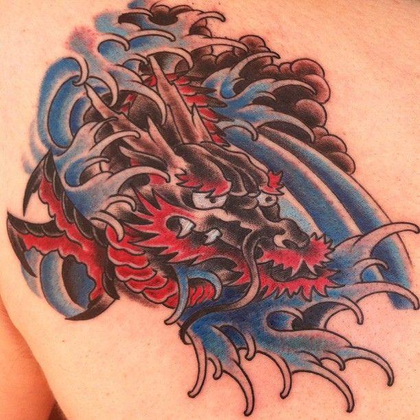 Japanese Water Dragon Tattoo Japanese Water Dragon Tattoo Freak Water Tattoo Dragon Tattoo Water Dragon