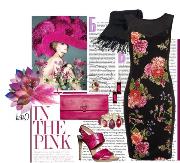 """""""Unforgettable Fuchsia"""" by kateo ❤ liked on Polyvore"""