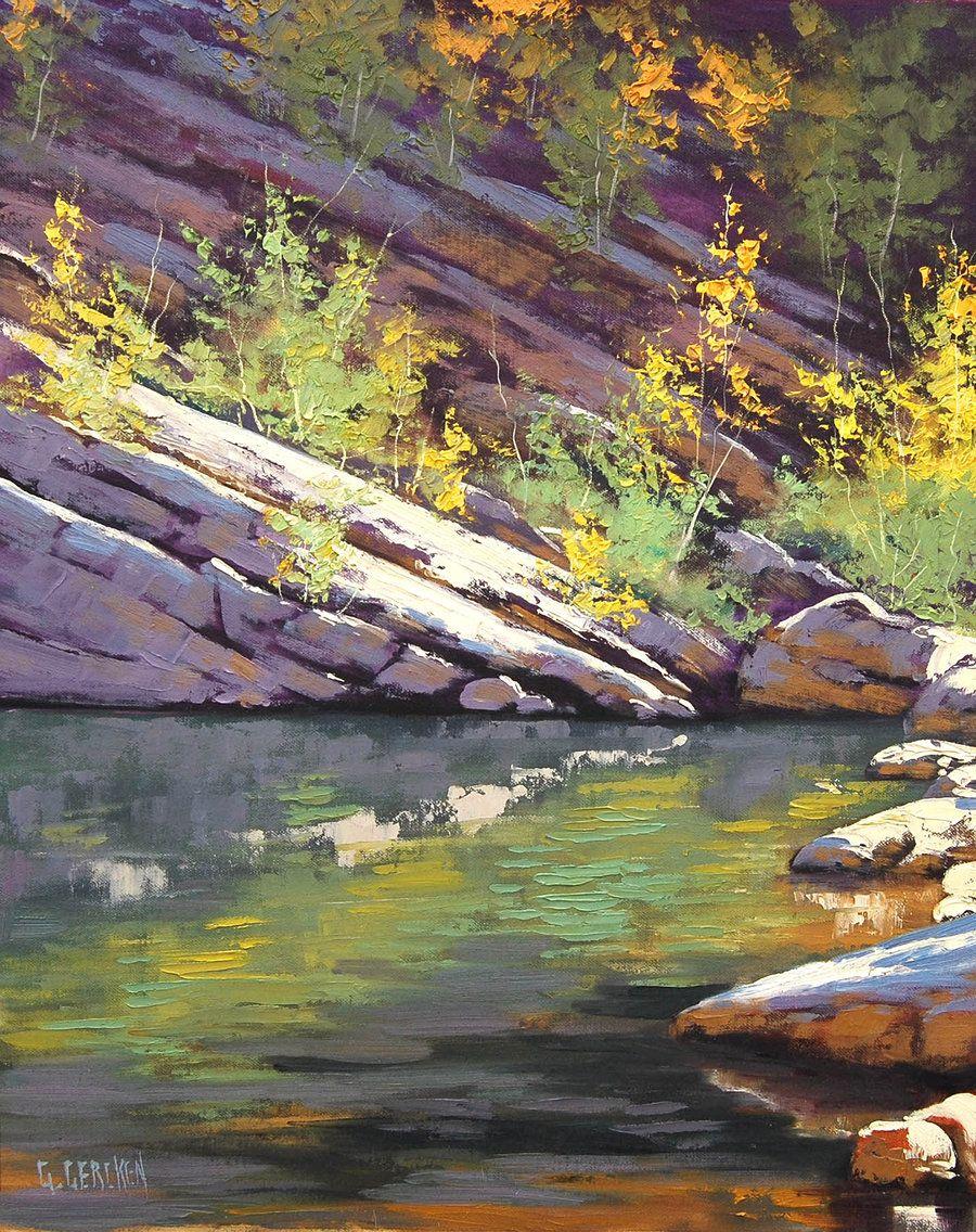 Rock Pool by G. Gercken  -- artsaus.deviantart.com