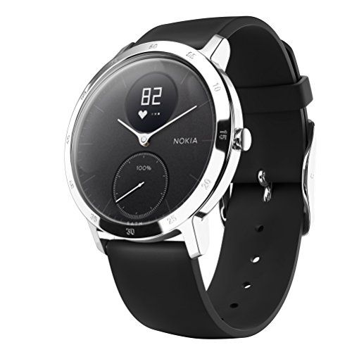 9c89372ae6e Nokia Steel HR Hybrid Smartwatch – Heart Rate  amp  Activity Tracking  Watch