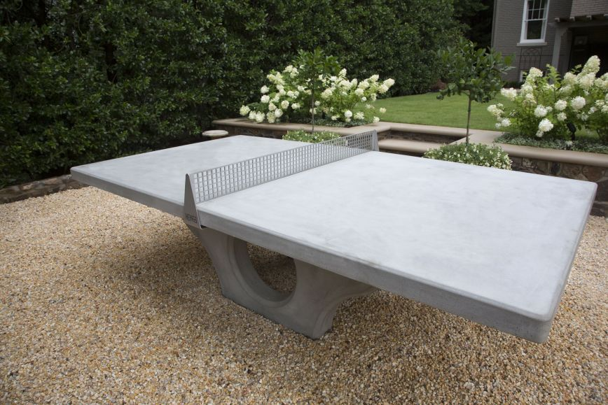Concrete Ping Pong Table Want Concrete Table Outdoor