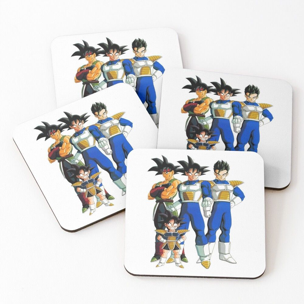 'Dragon Ball Goku Family  Bardock  Gohan Goten' Coasters by 5wayto -  Get my art printed on awesome products. Support me at Redbubble #RBandME: www.redbubble.com…  - #5wayto #Ball #Bardock #Coasters #Dragon #dragonball #dragonballbardock #dragonballbeerus #dragonballbroly #dragonballchi-chi #dragonballevolution #dragonballfighterz #dragonballheroes #dragonballsuper #dragonballvidel #dragonballz #dragonballzkakarot #family #Gohan #goku #gokusen #Goten #songoku #trunksdragonballz #vegeta