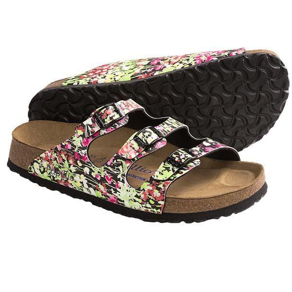ca40a8ec8a38 Papillio by Birkenstock Florida SFB Spring Flower Sandals - Birko-flor®