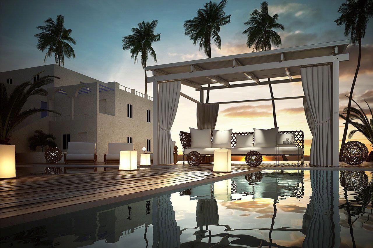 Pergolas Shade, Bio Climatic, Umbrella Pergolas in Dubai