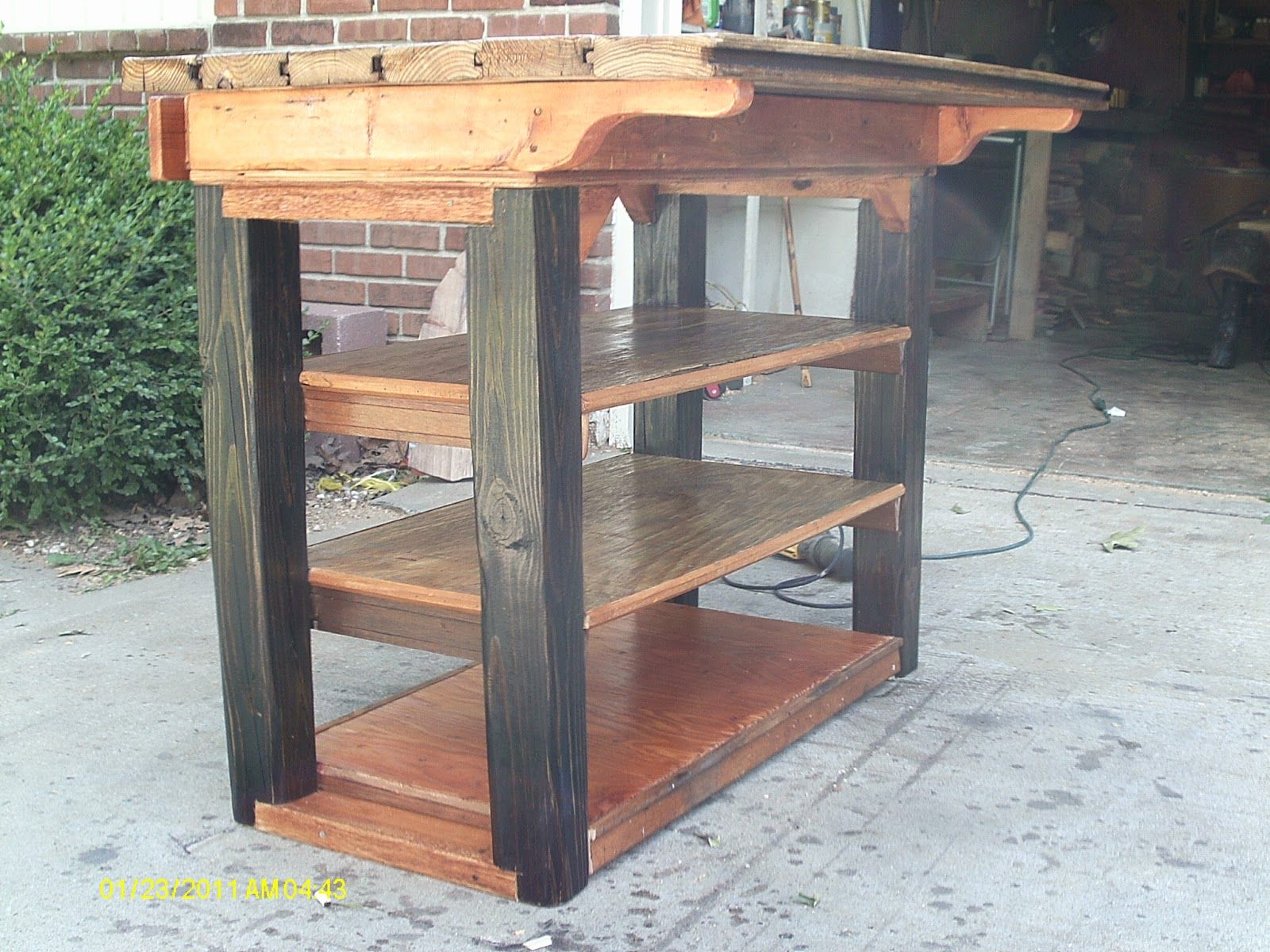 Posted Hand Made Log Furniture Handmade Kitchen Island For Sale Waterford  City From