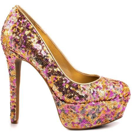 Jessica Simpson - Devin 2 - Golden Rose Fab