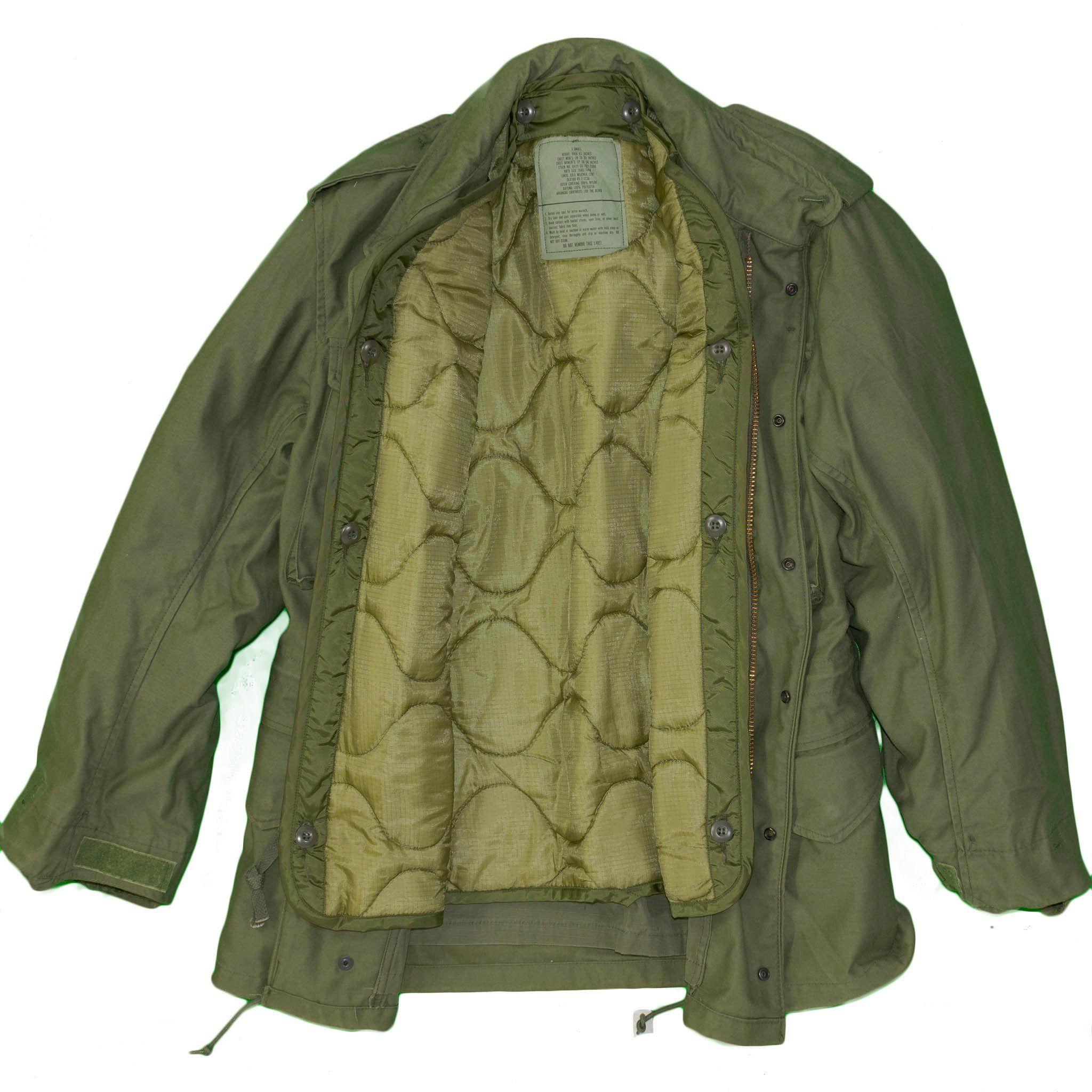 1980 M65 Field Jacket w/ Coat Liner Vintage Military