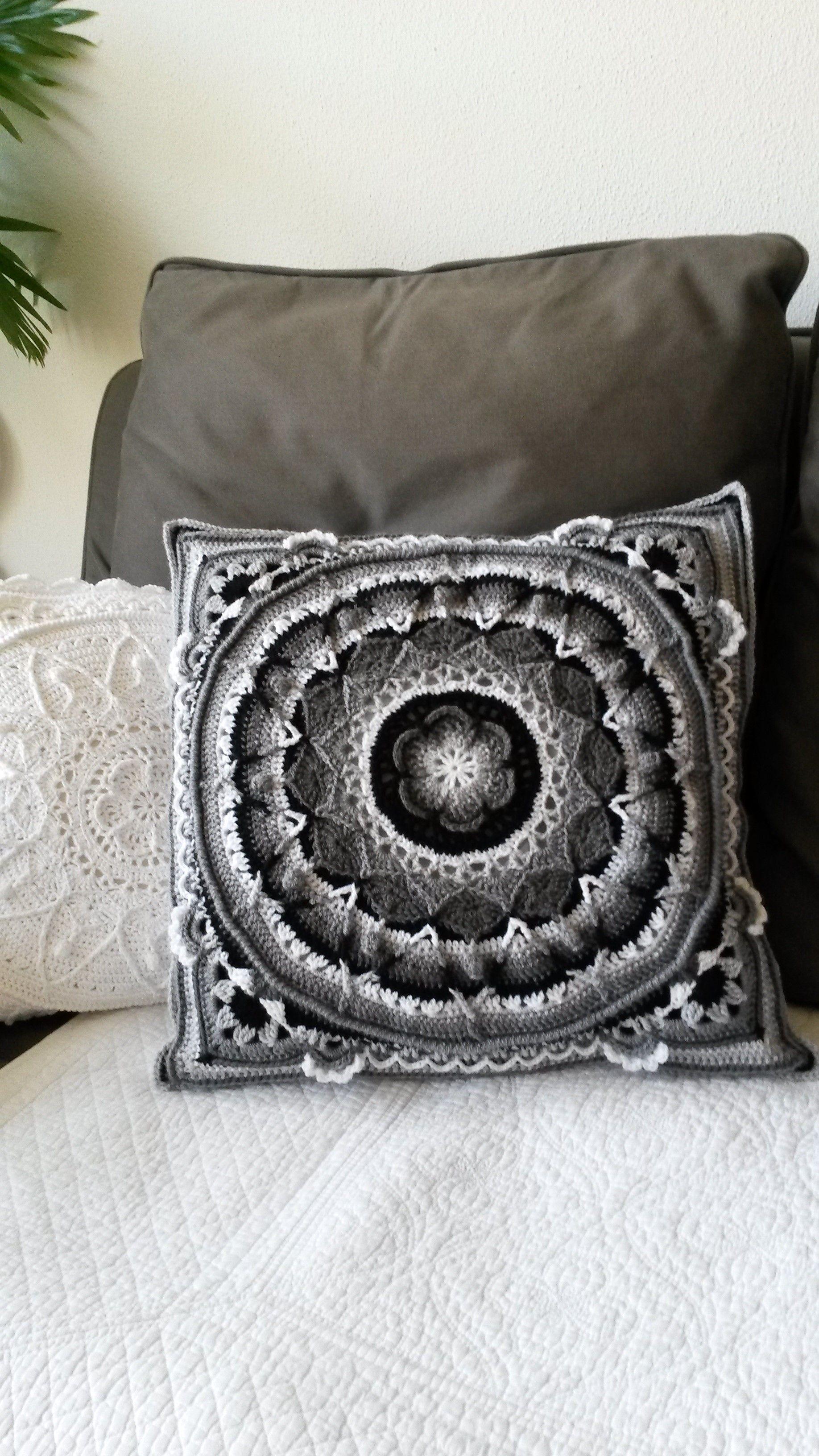 Mandala Örgü Battaniye Motifi Yapılışı Videolu