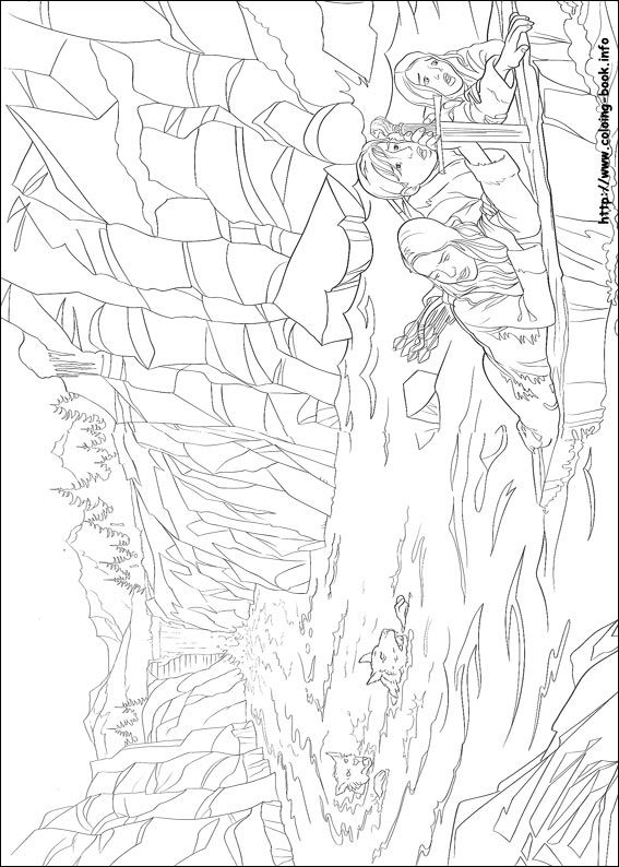 The chronicles of Narnia coloring picture | Narnia | Pinterest | Años