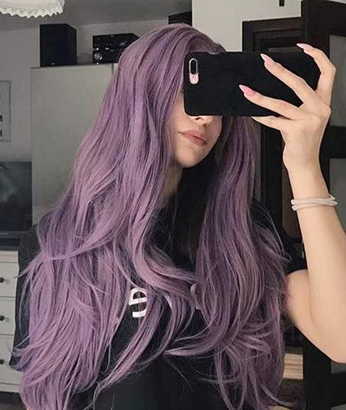 Zenith 2018 Lilac Purple Hair Wigs for Women 2018