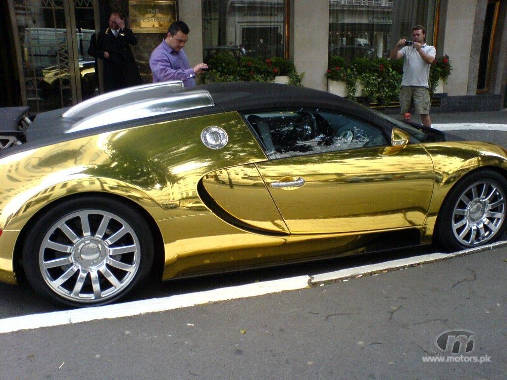 Gold Bugatti Veyron Wallpapers Sports Cars Wallpapers Bugatti Veyron Bugatti V Pictures Of Sports Cars Sports Cars Luxury Most Expensive Car In The World