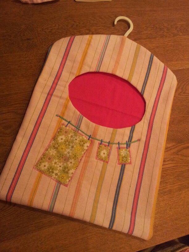Peg bag | Bolsas para pinches de colgar ropa | Pinterest ...