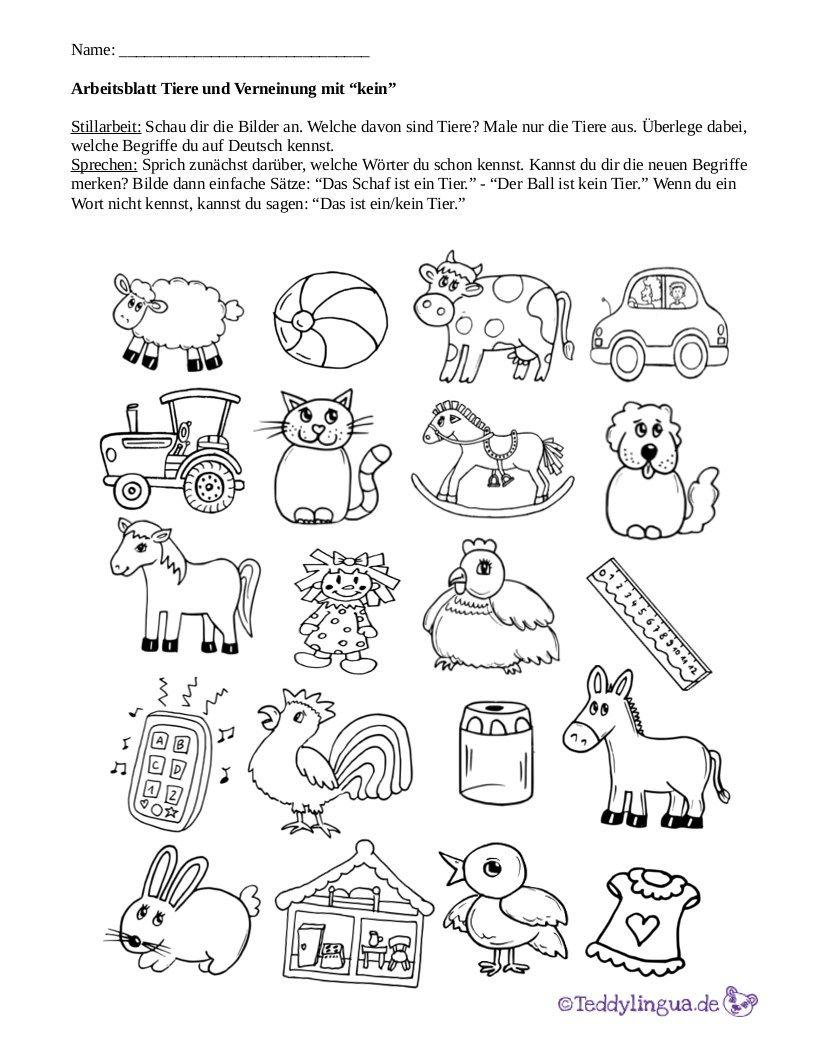 Arbeitsblätter Teddylingua Arbeitsblätter
