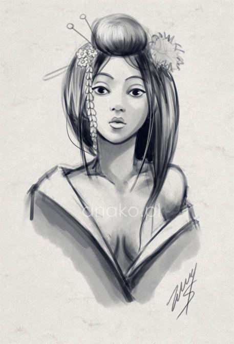 Resultado De Imagen De Imagenes Geishas Japonesas Japonesa Punto