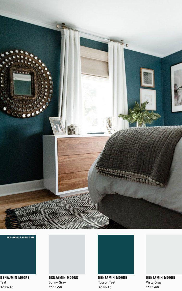 Schlafzimmer Ideen Blau Grün