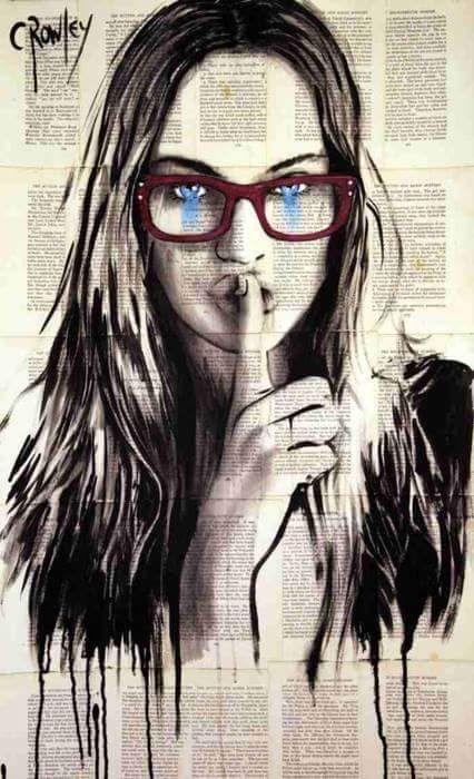 Tweets Con Contenido Multimedia De Vica Nafash 16 Vica Twitter Rostros De Arte Arte Abstracto Moderno Tatuajes De Rock