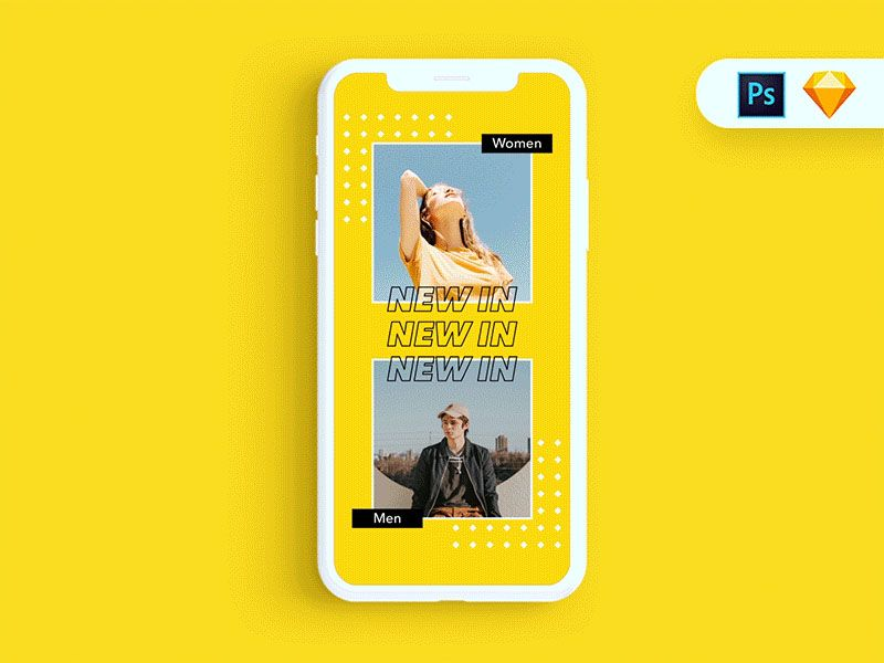 Free Instagram Stories Template Psd Sketch 50 Download Free Instagram Story Templates Instagram Template Design Instagram Story Ads Instagram Story Template