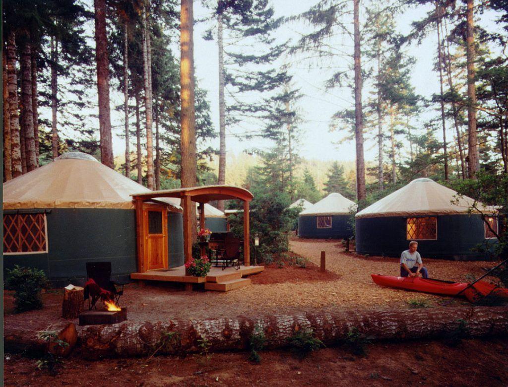 10 Awesome Oregon Coast Yurt Rentals For Less Than $60 | That Oregon Life