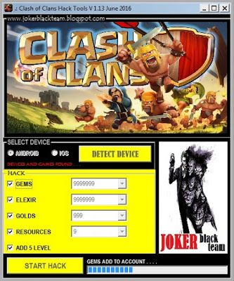 clash of clans hack tool apk 2016