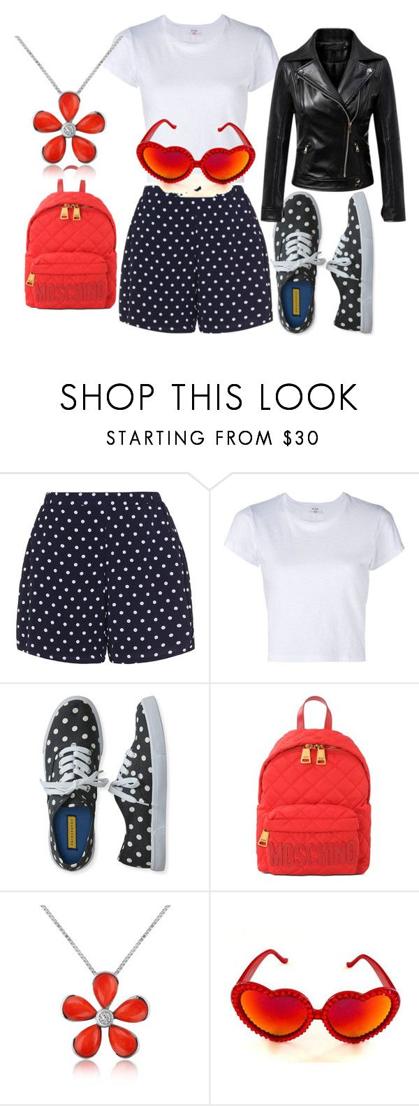 """""""queenet look"""" by queenet506 on Polyvore featuring Zizzi, RE/DONE, Aéropostale, Moschino, Del Gatto, Gasoline Glamour and Chicnova Fashion"""