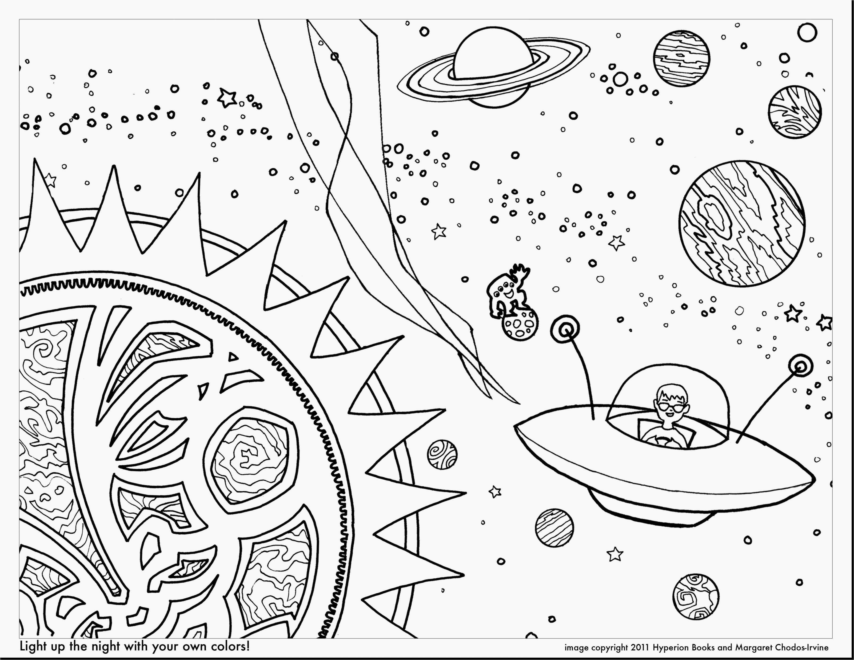 Solar System Coloring Page New Planet Pluto Malvorlagen