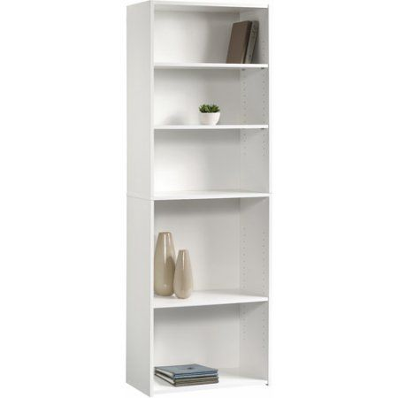 Buy Sauder Beginnings 5 Shelf Bookcase Soft White At Walmart