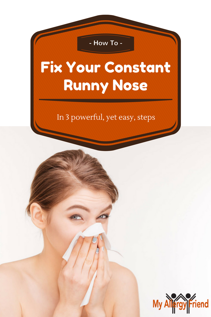 Pin By My Allergy Friend On Allergies Runny Nose Stop Runny