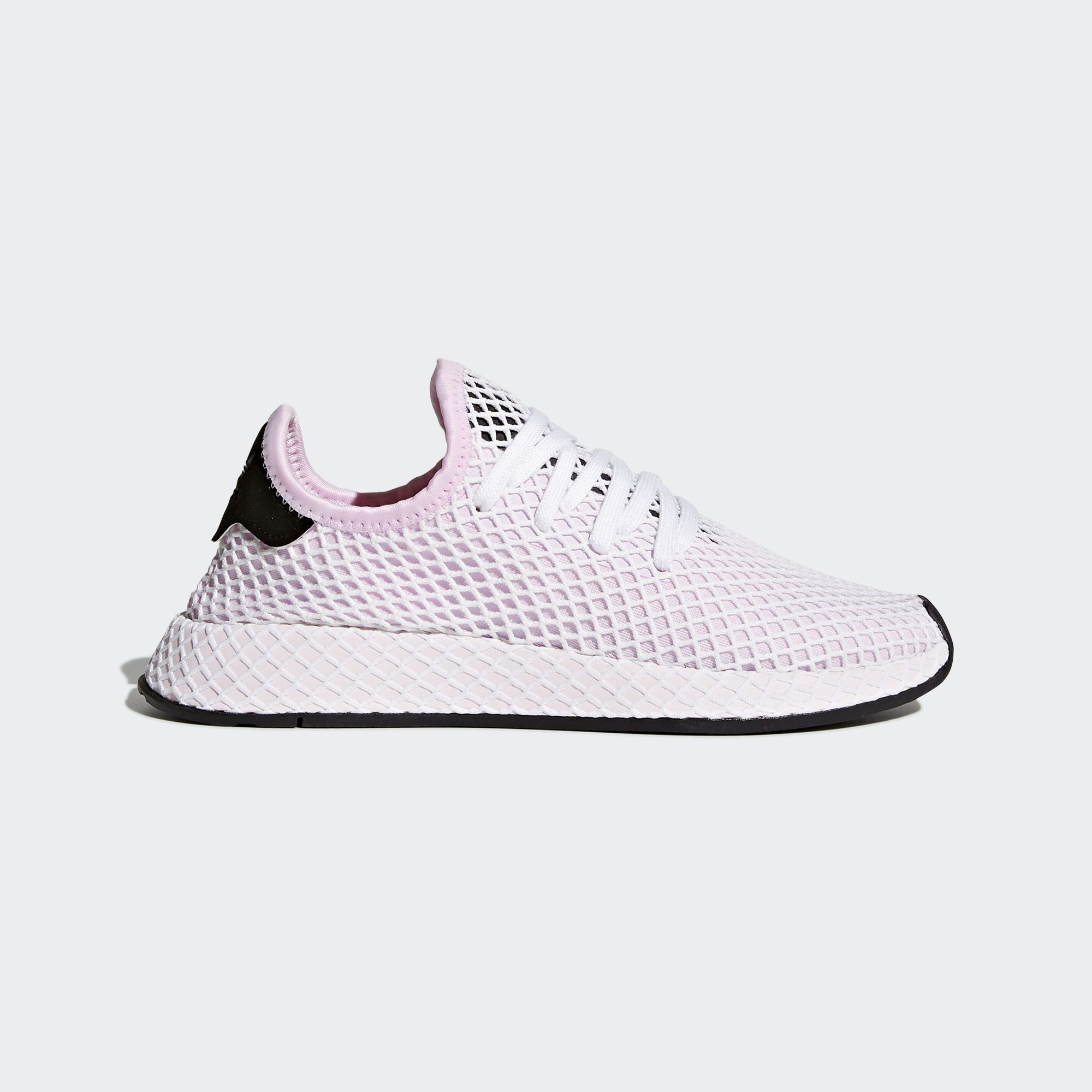 newest collection dbcb0 d4048 Shop the Deerupt Runner Shoes - Pink at adidas.comus! See all the styles  and colors of Deerupt Runner Shoes - Pink at the official adidas online  shop.