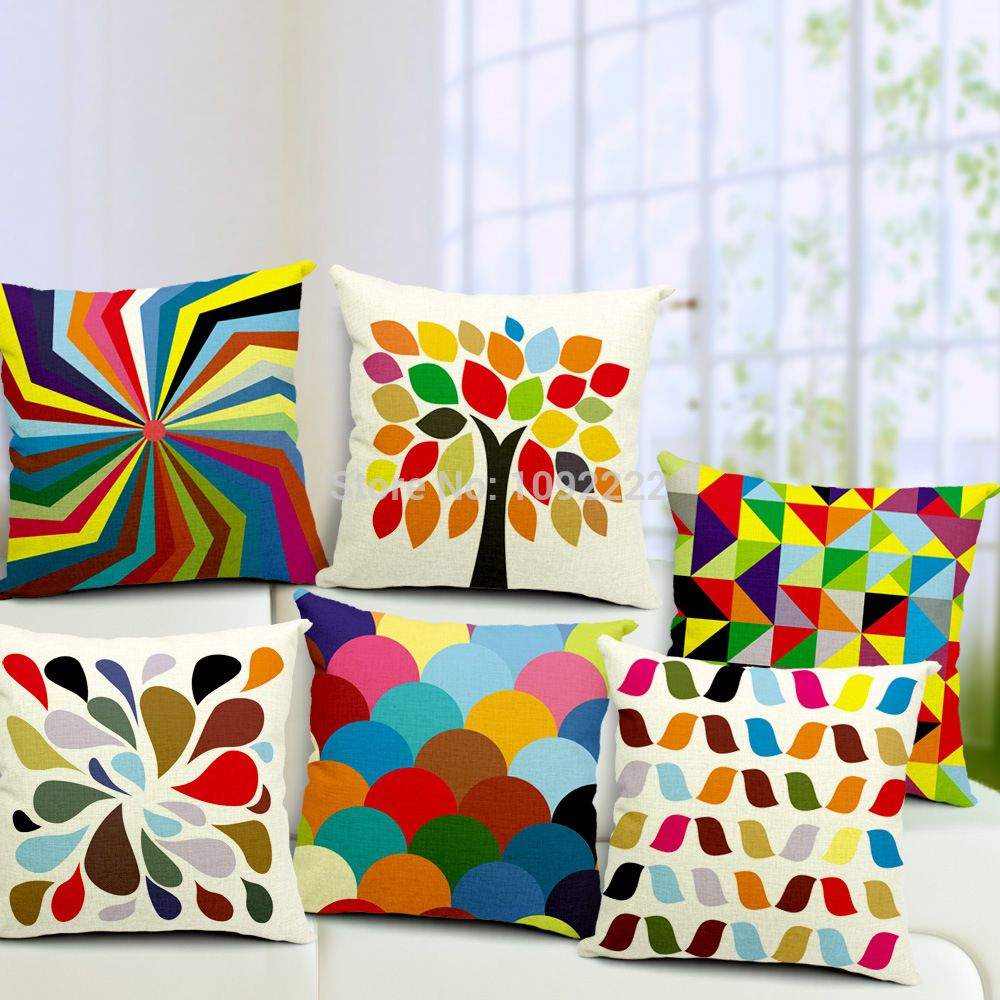 Sofa Cushion Cover Set: New Beauty Patterns from Ikea Throw Pillows for Living Room Decor    ,