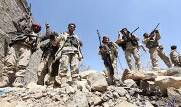 عسيري يؤكد أن مستمرون في دعم جهود الجيش الوطني اليمني الذي يحقق نتائج إيجابية في نهم Military Sana A Yemeni