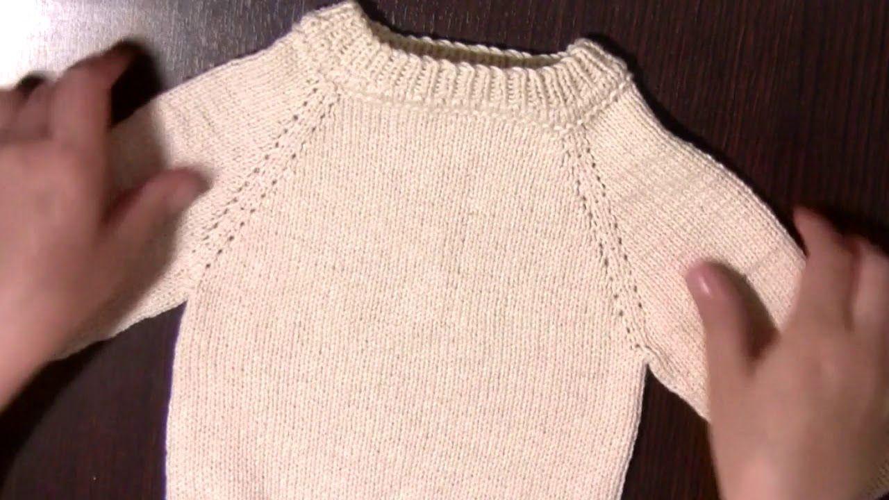 Suéter Sweater O Jersey Cerrado Manga Ranglan Division En 3 Part1 Chompa Para Niños Sueter Patrones Ropa Bebe