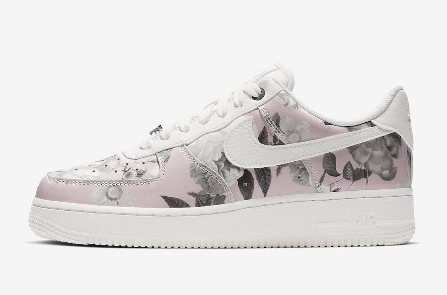 Nike Air Force 1 Low Floral AO1017 102 Release Date SBD