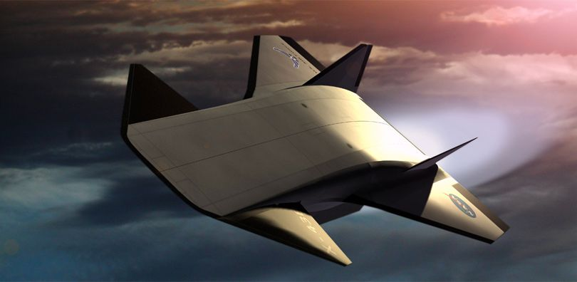 Scramjet SSTO | Science Fiction Art And Concepts