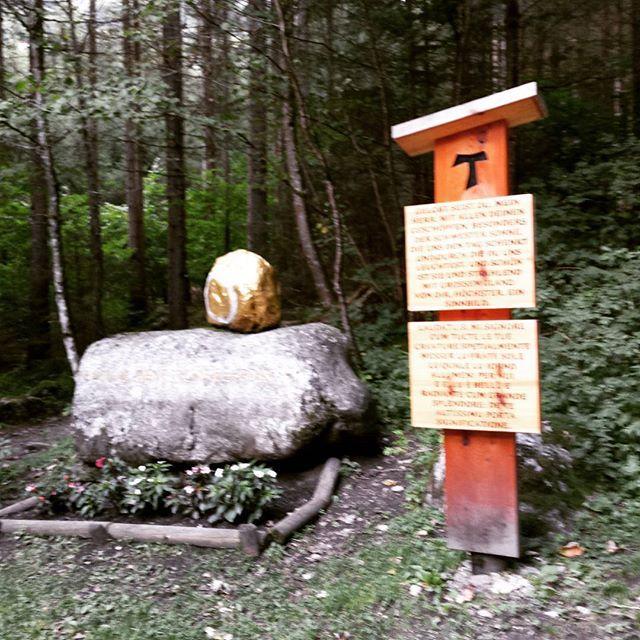 ...frate sole  Cascate di Riva / Sentiero di San Francesco
